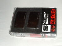Seymour Duncan AHB-1 Blackouts Active Guitar Pickup Set  CHROME New in box