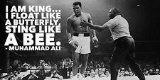 "Muhammad Ali v Sonny Liston ""Float Like A Butterfly"" Poster"