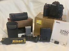 US Nikon D750 (Body Only) & Multi-Power Battery Pack MB-D16 & an extra EN-EL15b