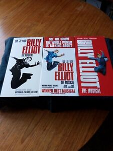 """Billy Elliot The Musical""  - Victoria Palace Theatre, London 3 Flyers"