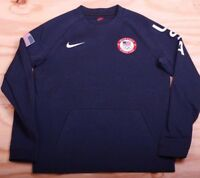 Nike Mens USA Tech Fleece 2018 Olympics Sweatshirt Crewneck 909526 473 Sz Medium