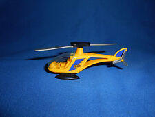 HELICOPTER AIRCRAFT D-HIGH Yellow Plastic Toy Vehicle Kinder Surprise Egg 1996