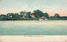 Lake At Daggett Park, Pawtucket, R.I. Rhode Island. Houses. Boat House.