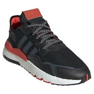 adidas ORIGINALS MEN'S NITE JOGGER SHOES SNEAKERS TRAINERS TREFOIL RETRO KICKS