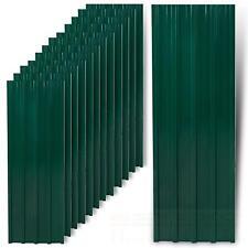 12x Trapezbleche Profilblech Grün Metallblech Dachblech Stahlblech Dach Platten