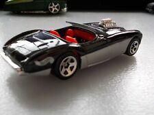 2000 Hot Wheels Austin Healey black/silver Mattel / Loose