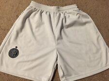 Boys Unbranded FC Inter Milan Soccer Shorts - White, Size L