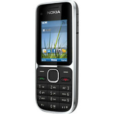 New Nokia C2-01 Black 3G Unlocked Bluetooth Camera with Box & free p&p UK