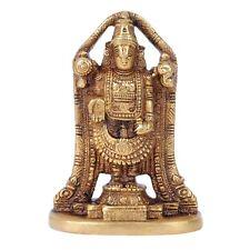 Brass Tirupati Balaji Statue Lord Venkateswara Idol Religious collectible Gifts