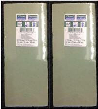 "FLORAL SUPPORT GREEN FOAM ARRANGER BLOCKS - LOT OF (2). (2.5"" X 3"" X 8"") - NEW!!"