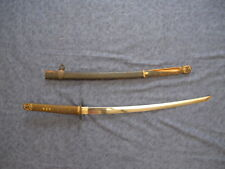 JAPANESE WW2 NAVY SWORD WITH ANCHOR ON TANG