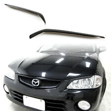 Eyelids Eyebrows For Mazda 323 Protege Front Headlight Covers Brows ABS