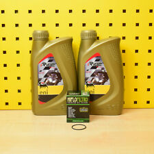 Piaggio MP3 400 / 500 Ölfilter Öl Agip eni i-Ride 5W-40 LT MIC RL 5w40 Motoröl