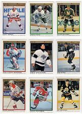 1991-92 O-pee-Chee Premier Set Singles (Pick any One listed below) MINT