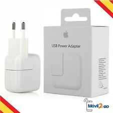 Cargador de Red Original Apple MD836ZM/A 12W para iPad, iPad Air, iPad Mini