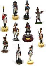 Lot de 10 Soldats de Plomb 1er Empire Napoléon Ney Tsar Alexandre 1/32 60mm LS15