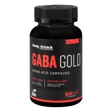 BODY Attack GABA Oro 80 cápsulas gamma-aminobuttersäure Regeneration Dormir