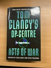 "1997 1ST EDITION TOM CLANCY'S OP CENTRE ""ACTS OF WAR"" FICTION HARDBACK BOOK (P5)"