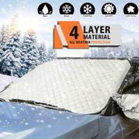 Car Windshield Cover Sun Shade Protector Winter Snow Ice Guard 100%Waterproof