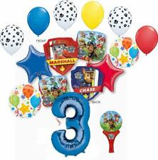 Paw Patrol Party Supplies Chase, Marshal and friends 3rd Birthday Balloon Bou...