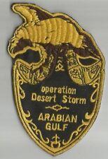 ARMEE avion aviation desert Storm Arabian Gulf écusson / patch 11.5X7 cm