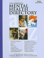The Complete Mental Health Directory 2008 (Complete Mental Health Directory) by