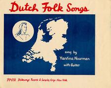 Jantina Noorman - Dutch Folk Songs [New CD]