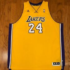 BNWT Authentic Adidas Los Angeles Lakers Kobe Bryant Jersey Sewn sz 5XL