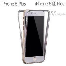 Funda Proteccion 360º Gel TPU Hibrida Transparente para iPhone 6 Plus - 6S Plus