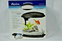 Aqueon LED MiniBow 2.5 Gallon Desktop Kit Aquarium White Open Box Unused