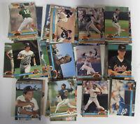 1991 Topps Stadium Club Set of ~450 Major League Baseball Card Collection