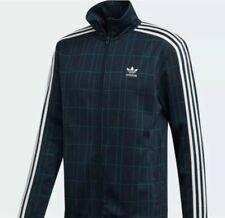 NWT Adidas Originals Tartan Beckenbauer Track Top Jacket Sz M #ED6134