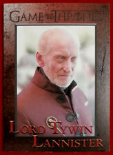 GAME OF THRONES - Season 4 - Card #56 - LORD TYWIN LANNISTER - Rittenhouse 2015