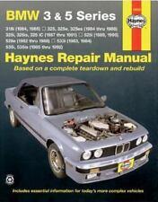 New - Bmw 3 & 5 Series '82'92 (Haynes Repair Manuals) by Haynes