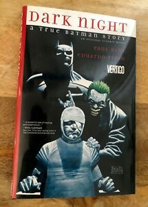 Dark Night A True Batman Story Graphic Novel Vertigo Comics