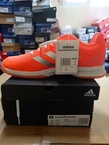 adidas Counterblast Bounce Indoor Shoes Badminton Neon Coral NWT US9 EH0851