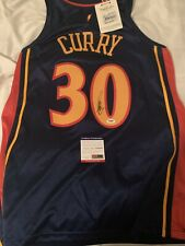 STEPH CURRY  Rookie Authentic Mitchell NESS SIGNED JERSEY AUTO BECKETT Psa COA