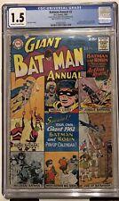 Batman Annual #2 CGC 1.5
