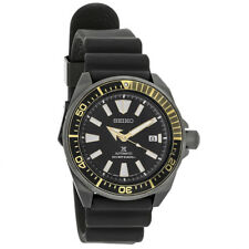 Seiko Automatic Mens Prospex Dive Black Ion Plated Stainless Steel Watch SRPB55