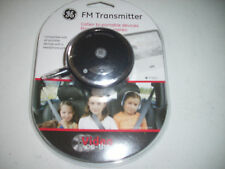 New GE 97650 FM Transmitter Car Trip Vacation DVD Movies ipod Traveling