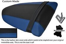 ROYAL BLUE & BLACK CUSTOM FITS KAWASAKI NINJA ZX6R 600 05-06 REAR SEAT COVER