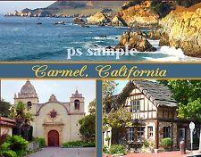 California - CARMEL - Travel Souvenir FRIDGE MAGNET