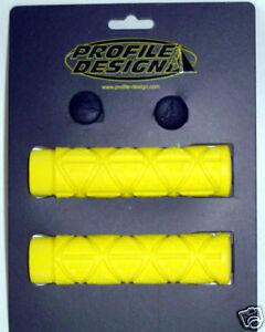 PROFILE DESIGN LOGO Griffe Gummi gelb