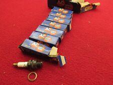 NOS AC SPARK PLUG 42 COM WITH CORALOX INSULATOR VINTAGE ANTIQUE SET OF 7