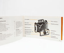 Polaroid 220 Instant Film Land Camera Manual Instructions Guide English