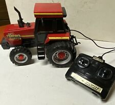 1987 New Bright TURBO TRAC 990 Battery Operated, RC Tractor-WORKS GREAT!