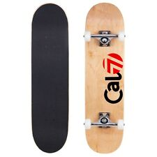 Cal 7 Fossil 8.0 Skateboards Complete Natural Wood Youth Adults Kids Pro- Delta