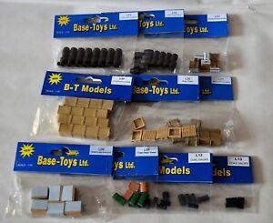 BT Models (Base Toys) Railside Accessories L01 - L13 00/1:76 Scale