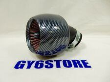 CARBON FIBER LOOK AIR FILTER FOR 150cc SCOOTERS, ATVS, WITH GY6 MOTORS