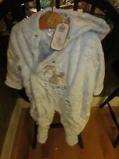 WDW DISNEY BABY THUMPER BABY BLUE PLUSH BRAND NEW WITH TAGS SIZE 3 - 6 MONTHS